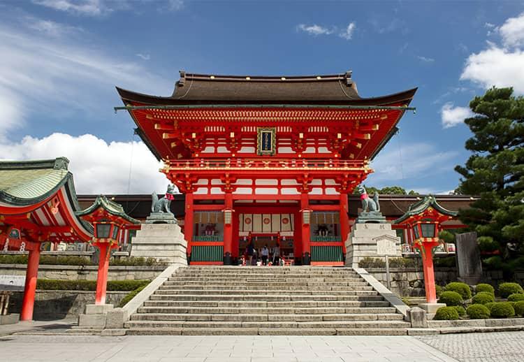 Fushimiinaritaisha Shrine